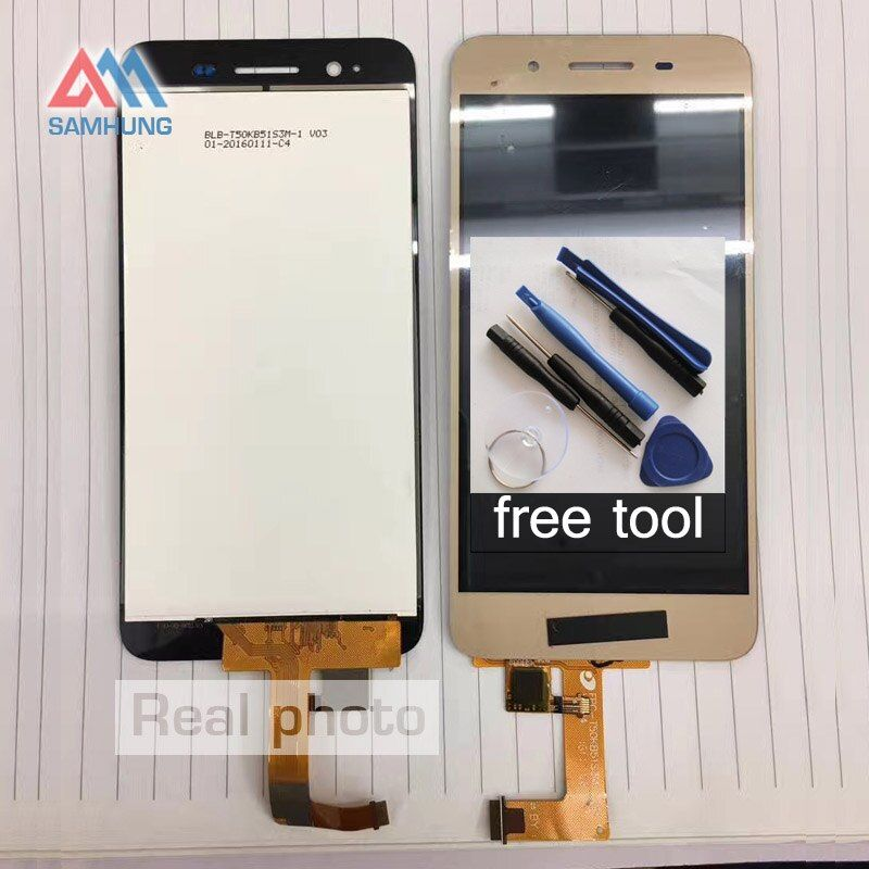 Free tool Replacement parts For Huawei GR3 TAG-L21/Enjoy 5S L13 L01 L03 L22 L23 CL00 LCD DIsplay+Touch Screen Digitizer Assembly
