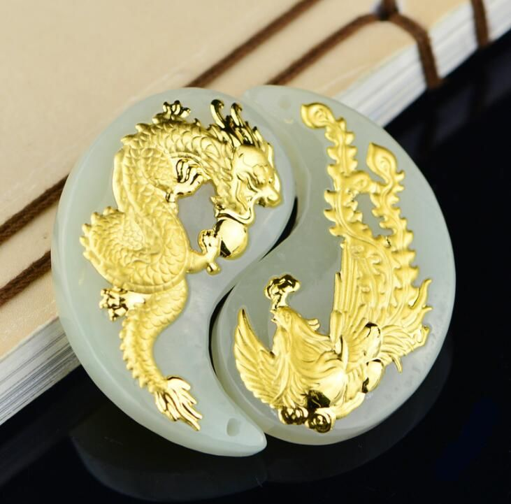 2018 New Style Dragon Jade Good Quality Unisex Pendants On Hot Sales Discount Men Women Necklace Jewelry