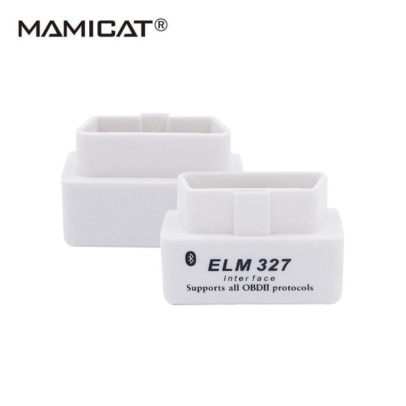 Шина CAN сканировать Супер Мини ELM327 Bluetooth odb2 сканер ELM 327 Bluetooth OBDII салона автомобиля диагностический Интерфейс ELM327 v2.1 сканирования