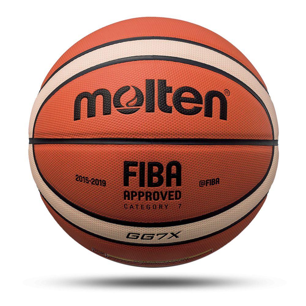 Nouveau ballon de basket-Ball de haute qualité taille officielle 7/6/5 PU cuir extérieur intérieur Match formation gonflable basket-Ball baloncesto
