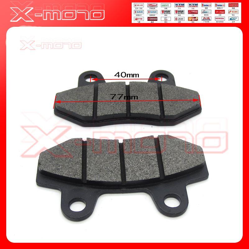 Plaquettes de frein à disque 2 pc/paire adaptées à la fosse GPX Kayo esb IRBIS 110cc à 250cc