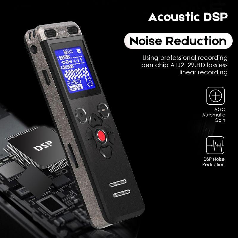 Diktiergerät Professionelle Digital Voice Recorder Mini Kanzler Versteckte Sound Recorder Mikrofon Telefon Aufnahme U36