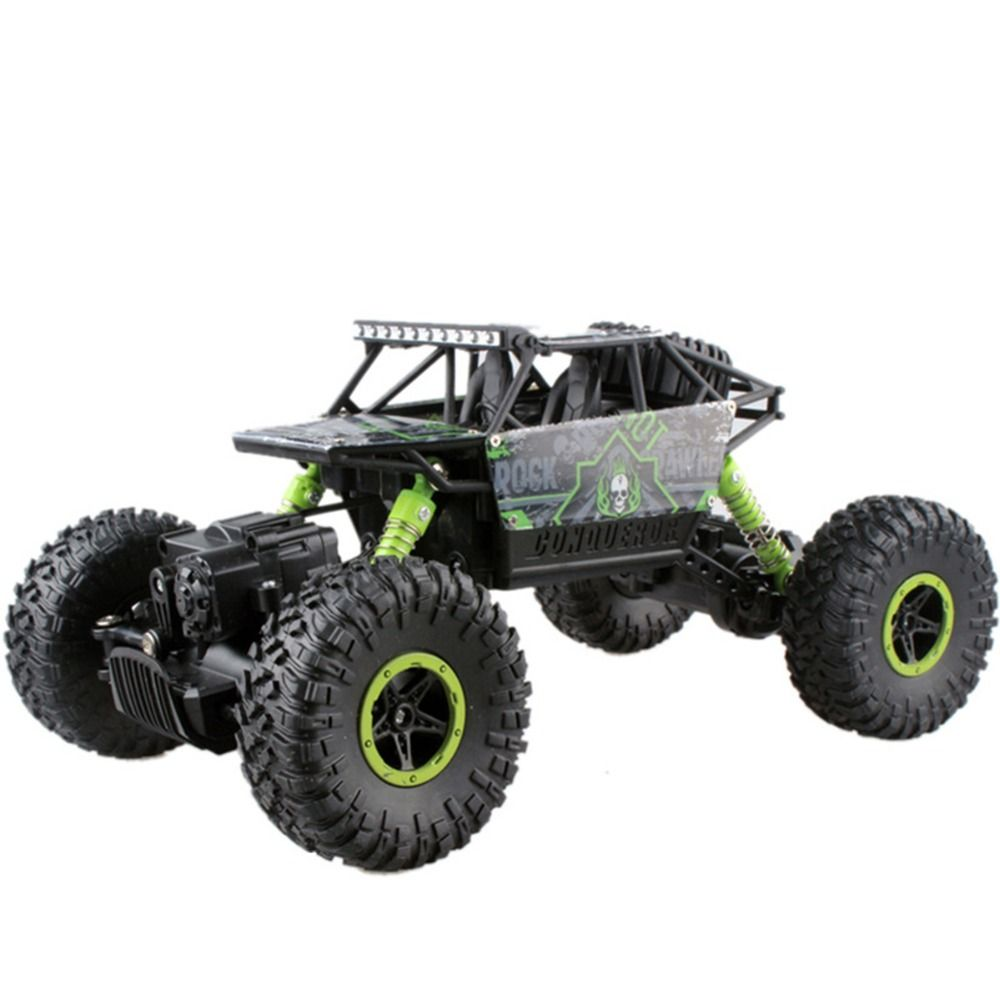 RC Car Remote Control Model Off-Road Vehicle Toy Double Motors Bigfoot Rock Crawlers Rally Climbing boys controlled machine kid