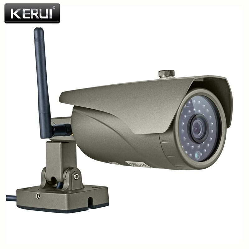 KERUI Real-time 2.0MP 1080P Waterproof Outdoor Indoor Wireless Full HD IP Camera WIFI P2P Onvif Audio Surveillance Camera
