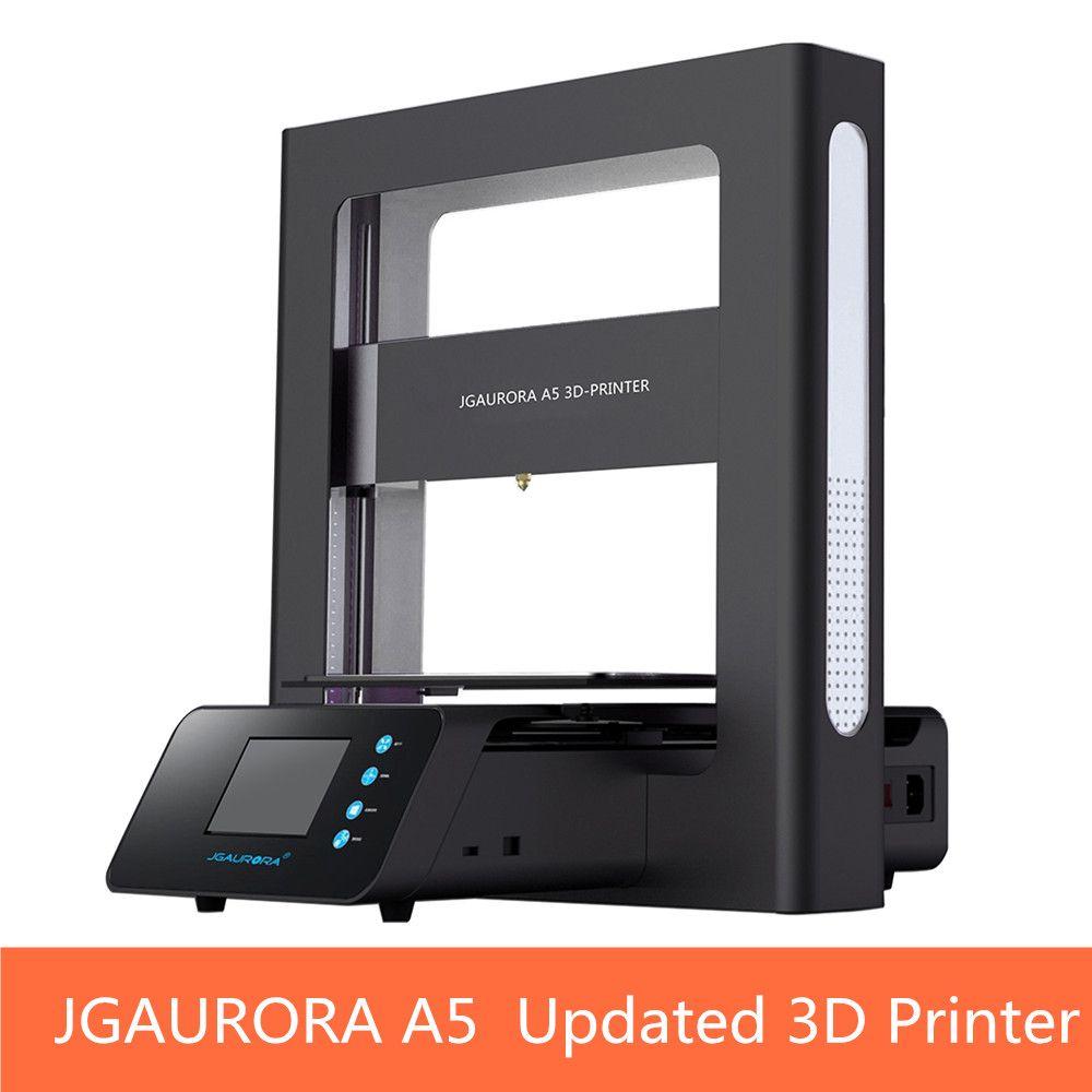 JGAURORA A5 Aktualisiert 3D Drucker Lcd-bildschirm Dispaly mit Großen Bereich Druckmaschine ABS PLA Unterstützung sd-karte