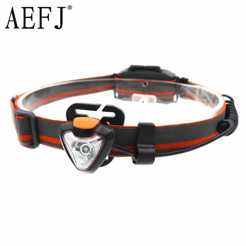 Mini Q5 LED 3000LM Headlight 360 Degree Rotate Headlamp 4-Mode Head Torch Light Lamp Hunting Frontal Lantern AAA Battery