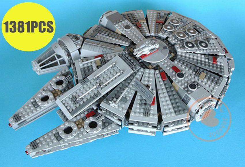 New Force Awakens Millennium Falcon fit legoings Star Wars figures technic fit 10467 Building Blocks bricks gift kid Toys