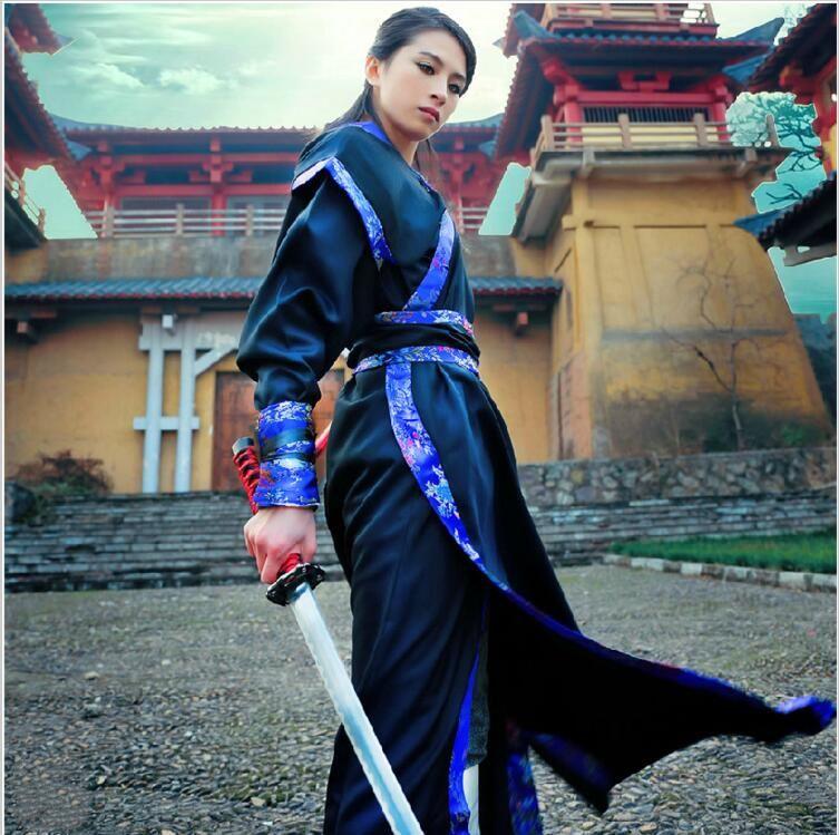 Folk Dance Costumes Hanfu Costume Han Dynasty Man Clothes Ancient Chinese Clothing Women Tang Traje Chino Dress