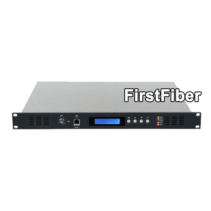 CATV 1550nm Optische Sender, 2mW zu 10mW für option, Direkt licht intensität modulation, dual power versorgung