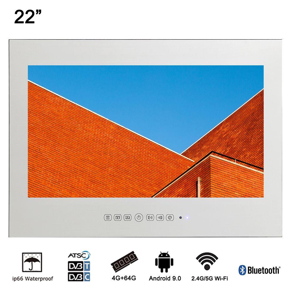 Souria 22 Smart Android Wasserdicht Bad Magie Spiegel LED TV Sauna Indoor Hause Verwenden LED TV