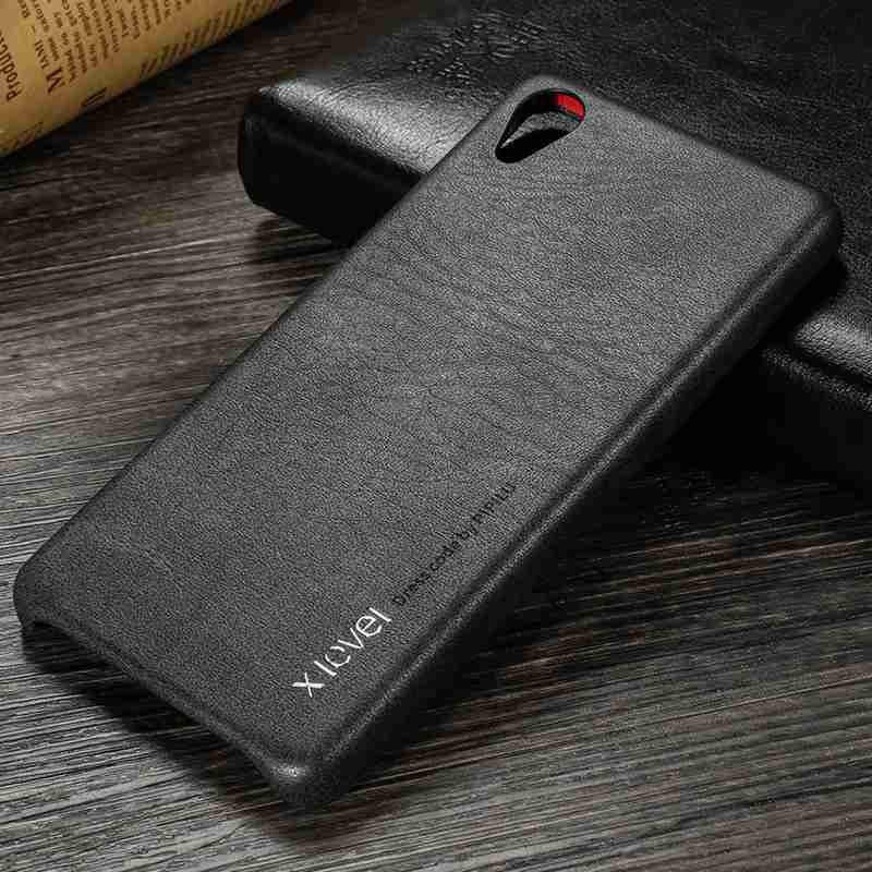 X-Level PU Leather Case For Sony Xperia X Ultra Thin Soft Back Case Cover for Sony X F5121 Dual Sim F5122 Retro Leather Case