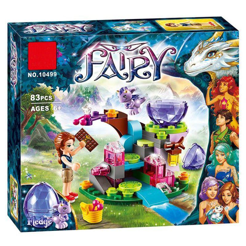 BELA 10499 elfes de fées Emily Jones et le bébé Dragon de vent blocs de construction ensemble filles jouets amis compatibles 41171