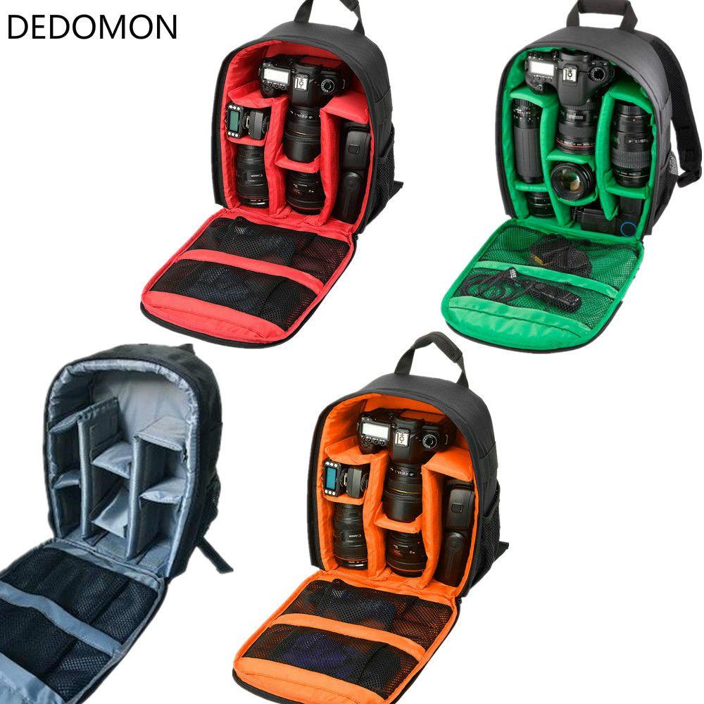 Водонепроницаемый Многофункциональный цифровой DSLR Спорт Камера видео сумка маленькая DSLR для Nikon Canon Камера спортивный рюкзак фотограф