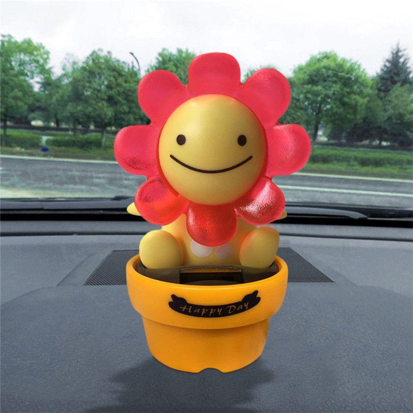 Car-styling CARPRIE Solar Powered Dancing Animal Swinging Animated Bobble Dancer Toy Car Decor td1206 drop shipping
