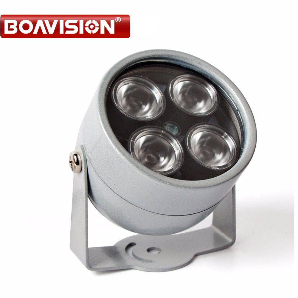 CCTV 4 Array IR led illuminator Light CCTV IR Infrared Outdoor Waterproof Night Vision For CCTV Surveillance Camera IP Camera