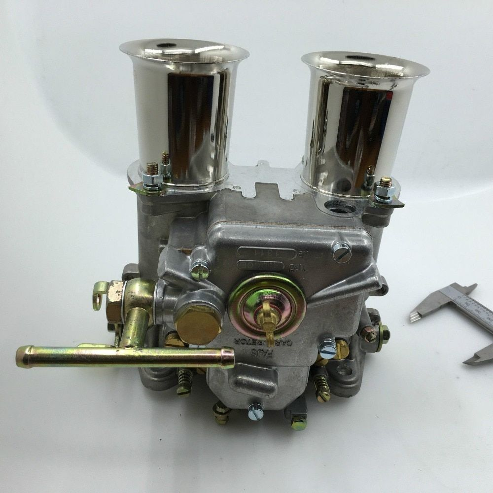 SherryBerg carb carbuettor carby FAJS 45 DCOE CARBURETTOR replace WEBER DCOE CARBY DELLORTO SOLEX 45DCOE with air horns stacks