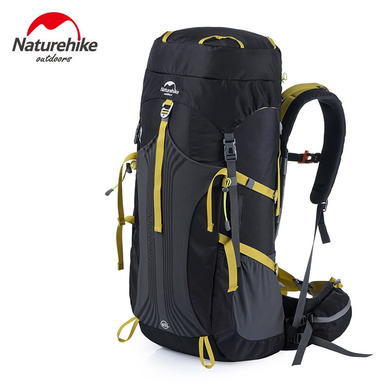 Naturehike Hike Travel Sports Bag Professional Mountaineering Backpack Waterpoof Big Capacity 55L Outdoor Backpacks NH16Y020-Q