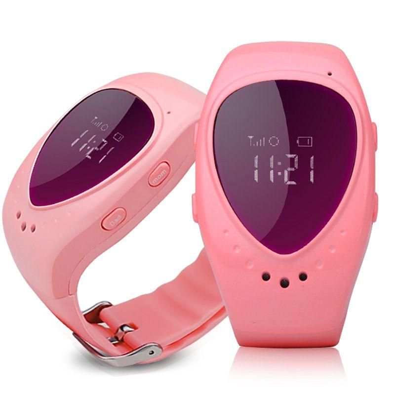 D'origine A6 GPS Tracker Montre pour Enfants Enfants Montre Smart Watch avec SOS bouton GSM téléphone soutien Android et IOS Anti perdu