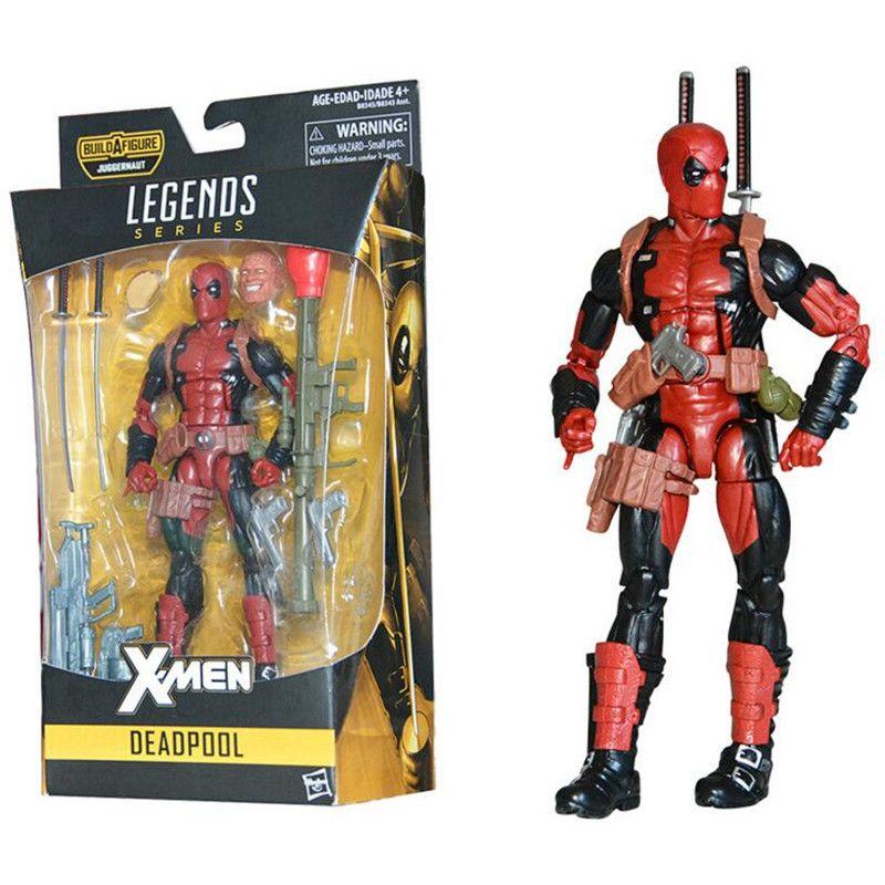 Neue Marvel X Männer Super Hero Deadpool 2 Spiderman Legends Serie Action Figure Mit Einzelhandel Box 6