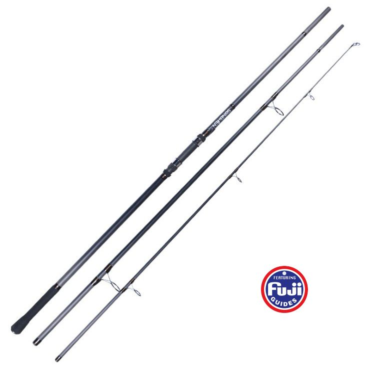 3.6M/3.9M FUJI reel seat casting weight 50-200g 3 sections European SURF ROD Carbon fishing rod Distance Throwing Rod