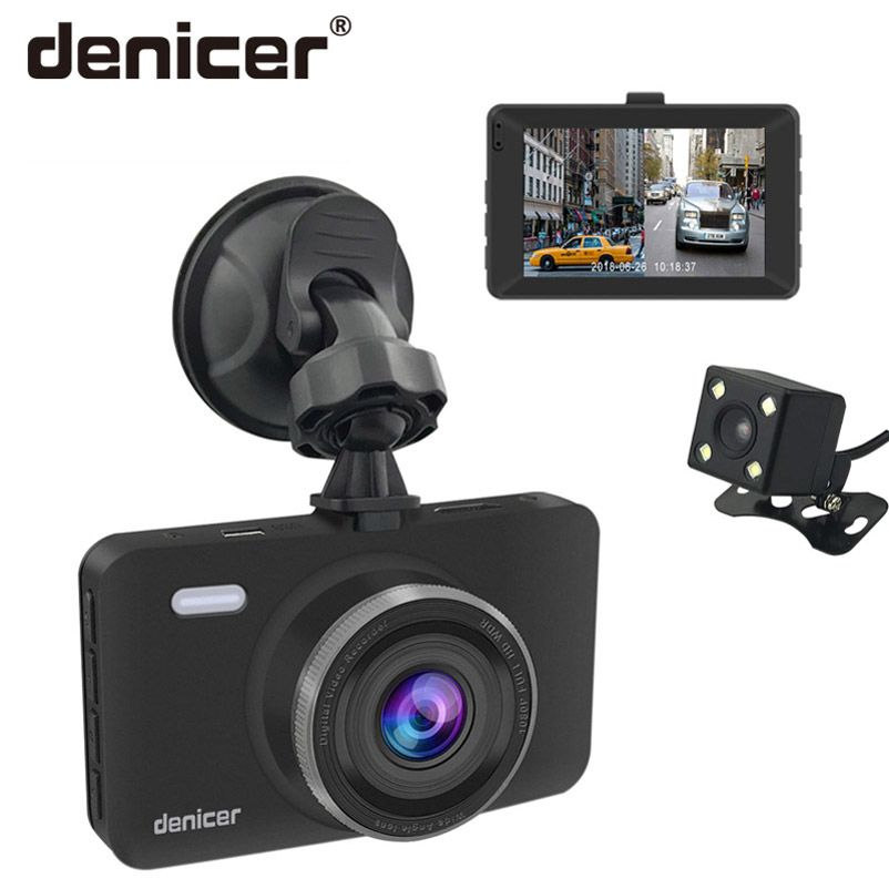 Denicer Dash Cam FULL HD 1080P Registrar Vehicle Camera 3.0