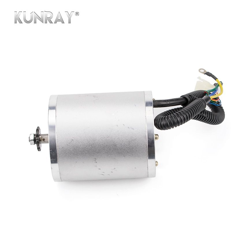 Kit Conversion 48VDC 1500W/1600W Electric Scooter Ebike Motor Set Kit E-car Motorcycle MID Drive Engine With 12Mosfet Controller