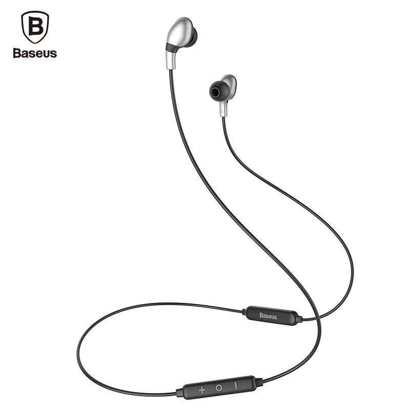 Baseus S04 Drahtlose Kopfhörer V4.1 Auriculares Bluetooth Kopfhörer mit Mic Stereo Casque Ohrhörer Sport Headset Für Handy