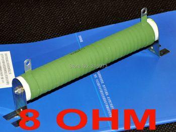 8 ohm 100 Watts High Power Tube céramique résistance bobinée, 100 W