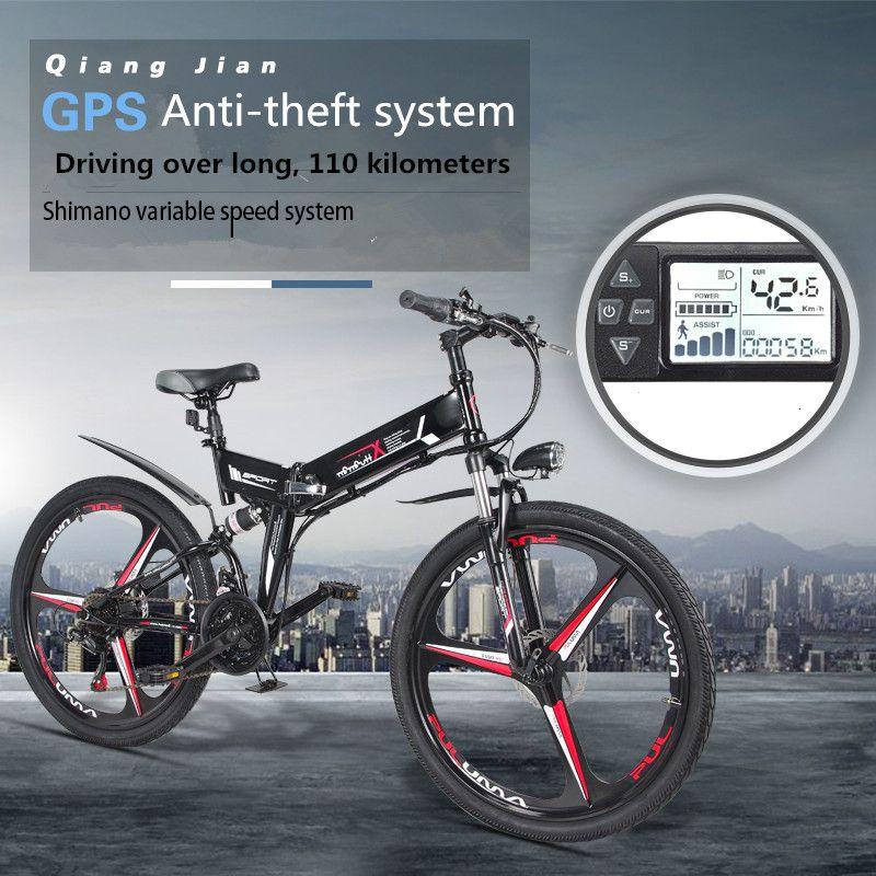 Neue Elektrische Fahrrad 24 Geschwindigkeit 10AH 36 v 350 watt Eingebaute Lithium-batterie E bike elektrische 26