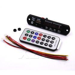Новое поступление 1 шт. Беспроводной Bluetooth 12 V MP3 WMA декодер доска аудио модуль USB TF радио для автомобильных аксессуаров