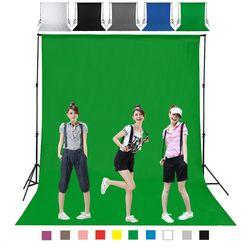 1.6X4M 3 2m Green Color Cotton Non-pollutant Textile Muslin Photo Backgrounds Studio Photography Screen Chromakey Backdrop Cloth