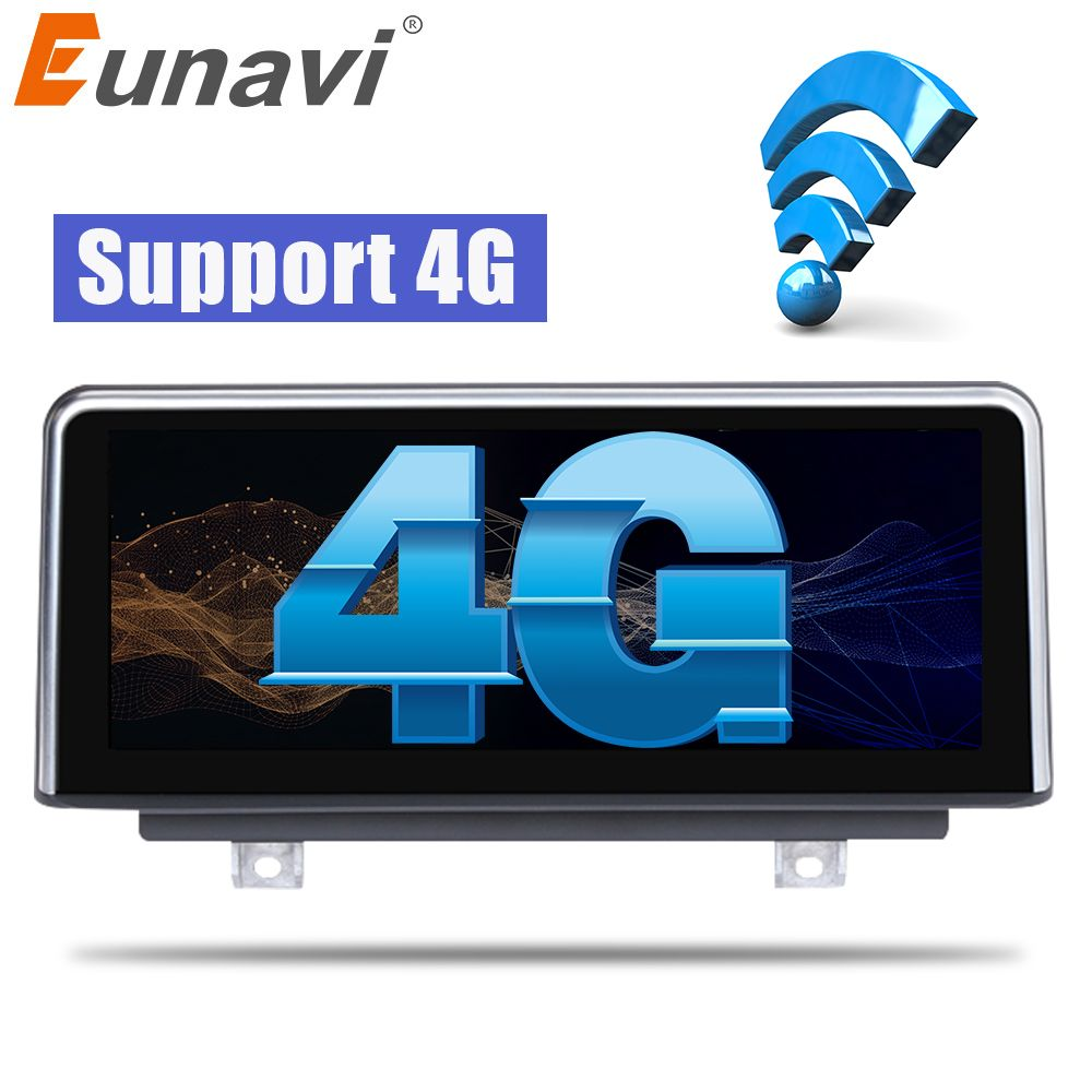 Eunavi Quad core Android 6.0 Auto DVD Radio Stereo-Spieler GPS Navi Für BMW 3 Serie F30 F31 F34 EVO (6 p) 2018 4g WIFI BT (keine dvd)