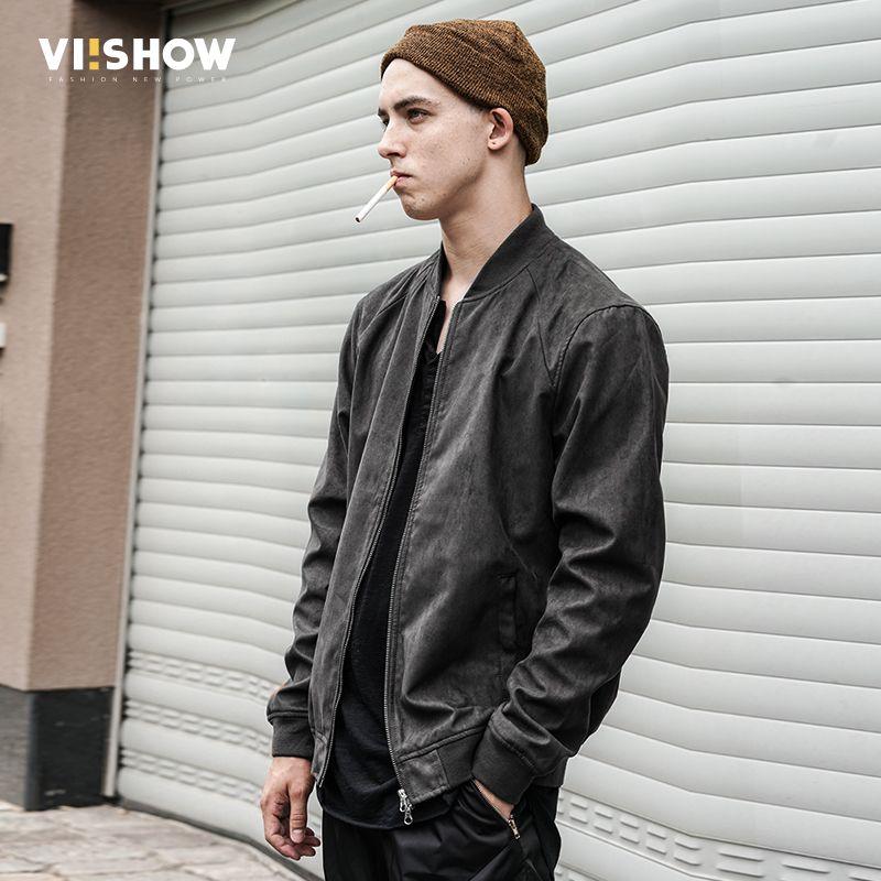 VIISHOW Men 2017 Autumn Jackets Baseball Coat Women Jacket Short Slim Mens Brand Clothes Outerwear Manteau Homme Bomber Jacket