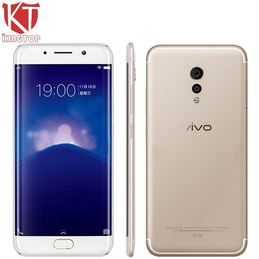 Original VIVO Xplay6 Xplay 6 Mobile Phone 6G RAM 128G ROM Snapdragon 820 Quad Core 5.45
