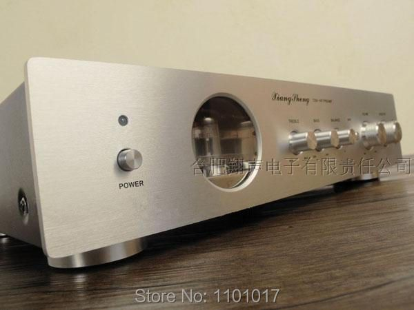 XiangSheng 728A Tube Pre-Amplifier HIFI EXQUIS Famous Japanese Cuircuit 12AT7 12AU7 6Z4 Pre-amps with tones adjustables