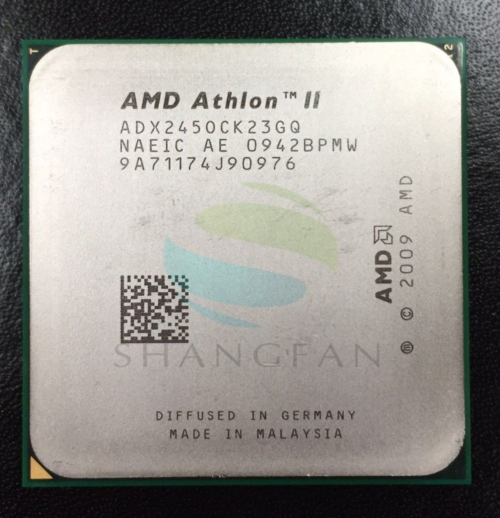 AMD Athlon X2 245 2.9GHz Dual-Core CPU Processor ADX245OCK23GM ADX245OCK23GQ Socket AM3 938pin