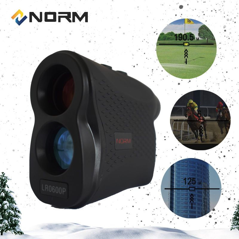 Norm Laser-entfernungsmesser 600 M 900 M 1200 M 1500 M Laser-distanzmessgerät für Golf Sport, Jagd, umfrage