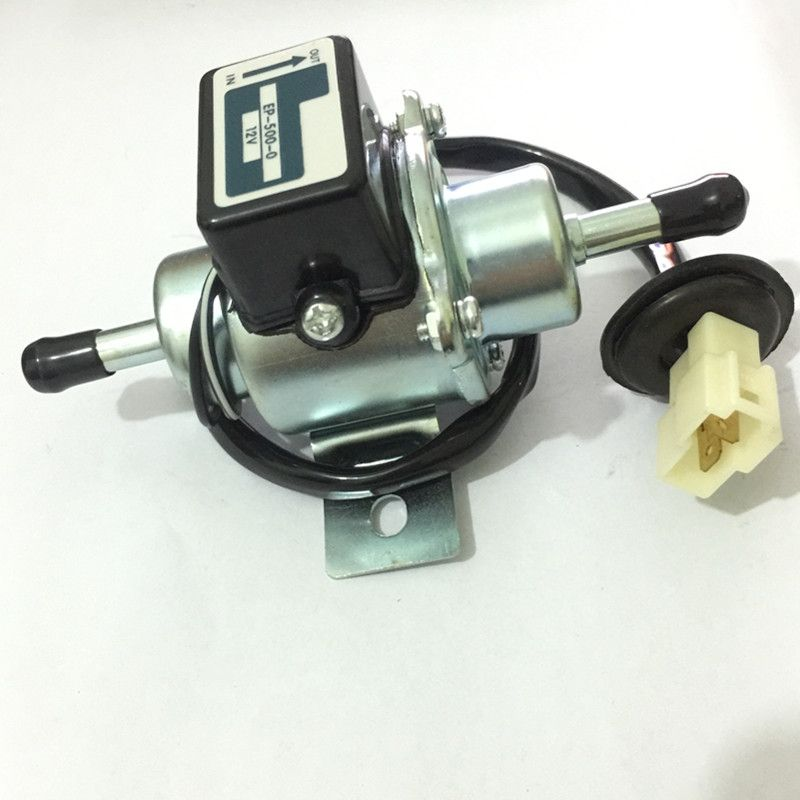 Free shipping EP-500-0 12V Universal Car Boat Fuel Pump Metal Solid Electric Diesel Pump 8188-13-350A 8188-13-350