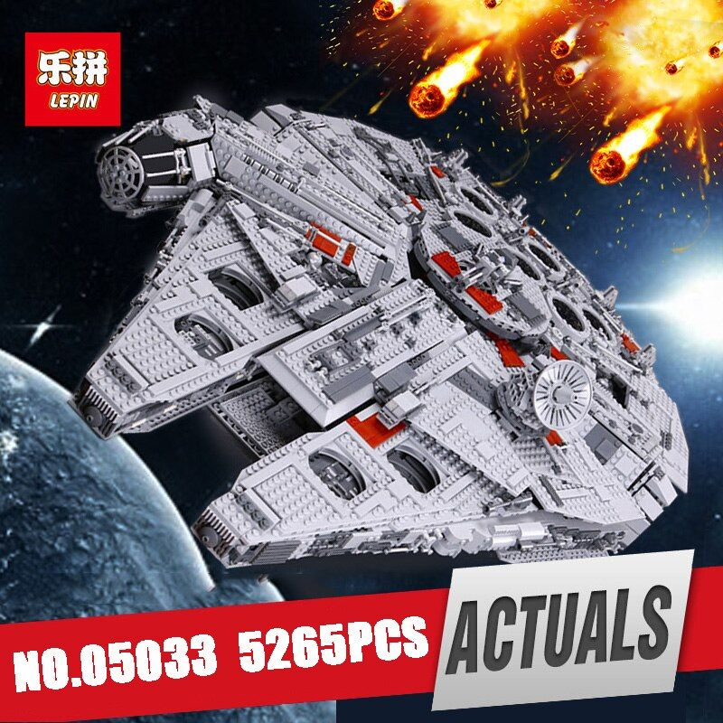 LEPIN 05033 Star Ultimate Wars Kits Collector's Millennium Toys Falcon Model Building Blocks Bricks Kids Toy Gifts legoing 10179