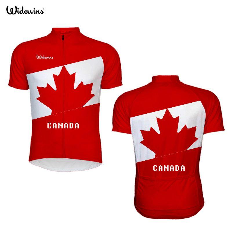 2017 radfahren Jersey Pro Team Kanada Männer Tragen Ahornblatt Flagge Jersey Kurzarm Radfahren/MTB/Fahrrad Benutzerdefinierte mann Kleidung Jersey