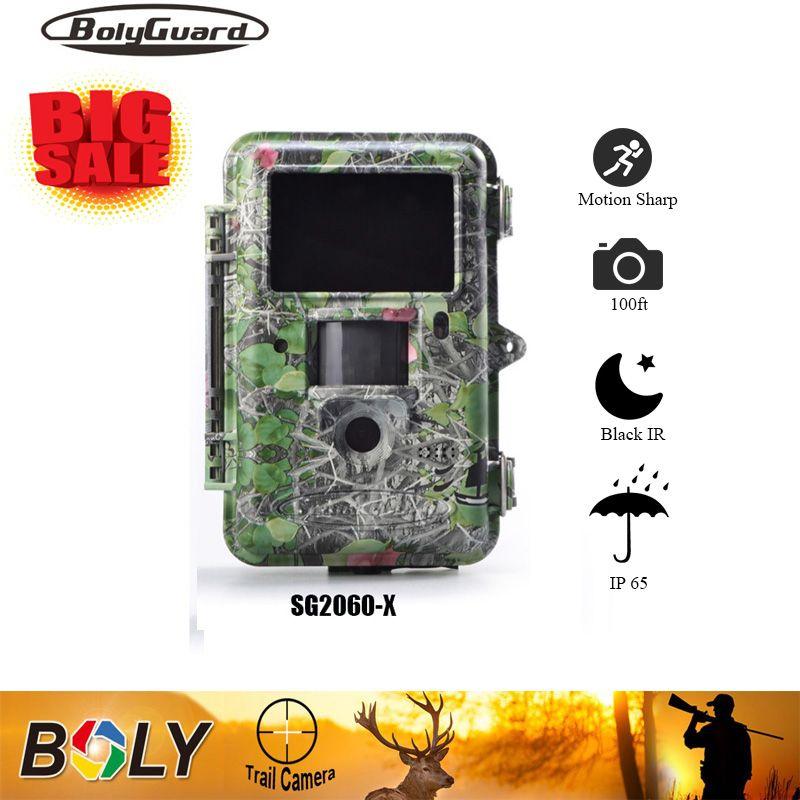 Bolyguard Wildlife Jagd Kamera Schwarz Infrarot Trail Spiel Scouting 25MP 1080PHD 100ft Bereich Motion Sharp Technologie