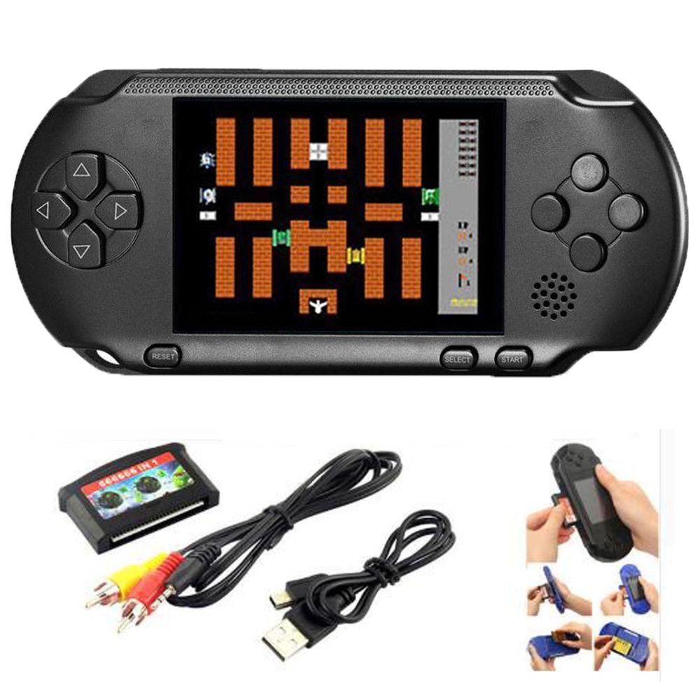 16 peu De Poche Console de Jeu Portable Jeu Vidéo 150 + Jeux Rétro Megadrive