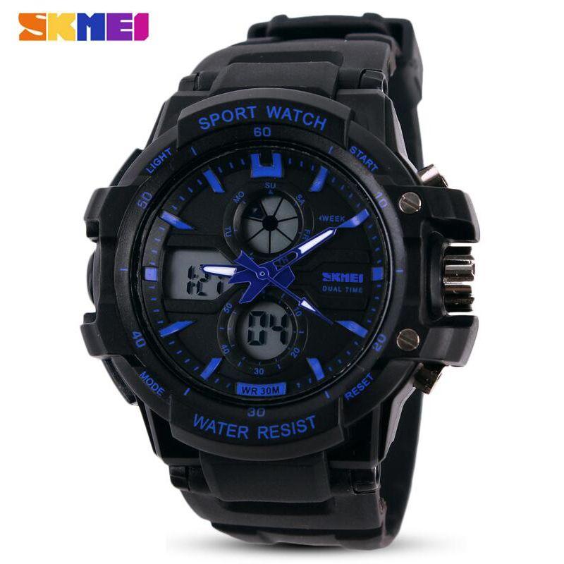 Skmei marca nuevos niños reloj deportes al aire libre niño Niñas alarma LED digital Reloj impermeable Relojes de niños