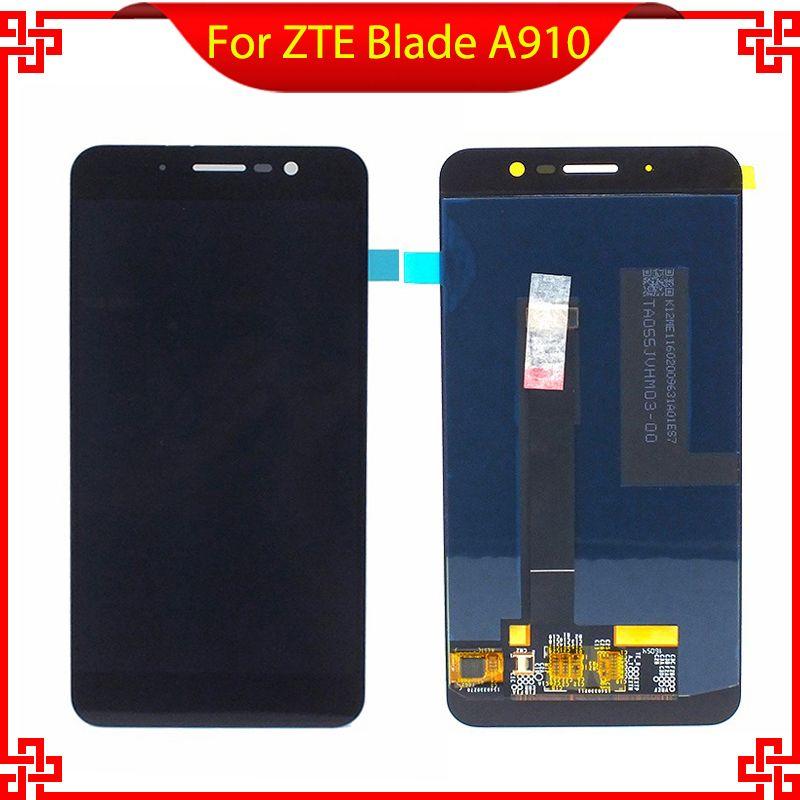 Pour ZTE Blade A910 BA910 Écran lcd Avec Écran Tactile Digitizer Assemblée Originale de la Nouvelle Livraison Gratuite Avec Des Outils