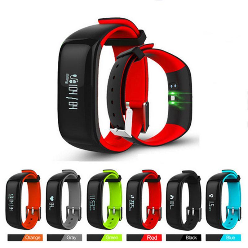 P1 Smartband montres pression artérielle Bluetooth Bracelet intelligent moniteur de fréquence cardiaque Bracelet intelligent Fitness pour téléphone Android iOS