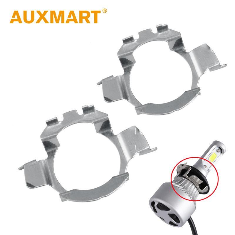 Auxmart H7 Bulb Holder Adapter for BMW 5 Series X5, Audi A3 A6L A4L Car Headlight H 7 Socket for Mercedes-Ben VW Buick Nissan