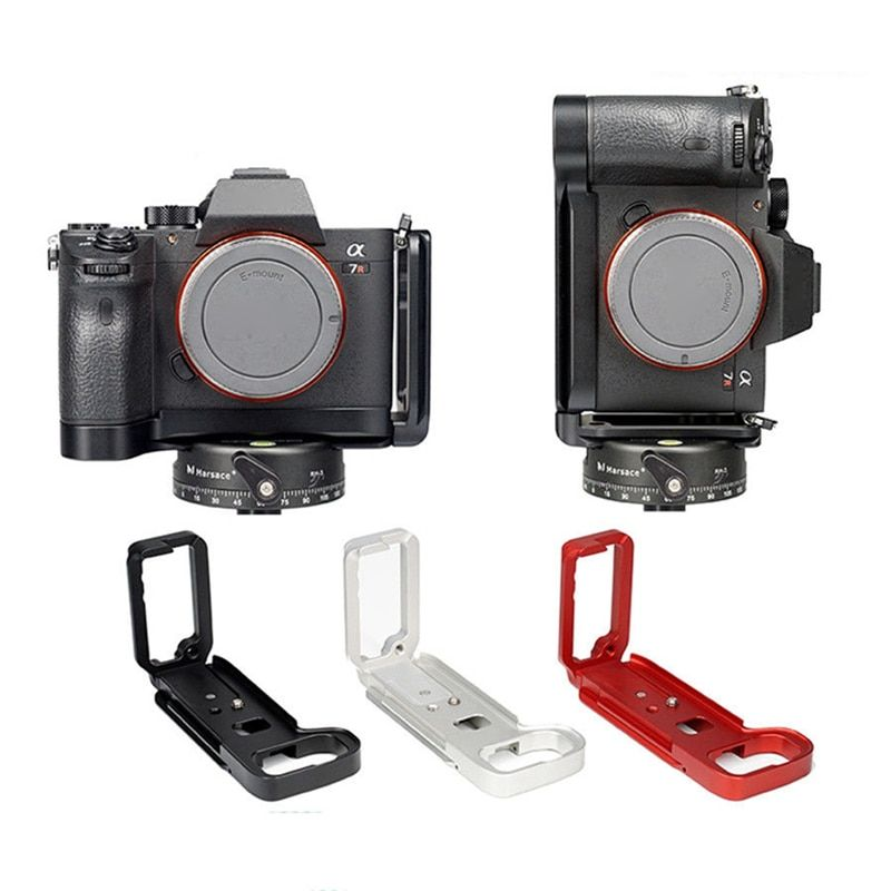 GABALE L Plate Bracket Camera Hand Grip Camera Holder For SONY A7M3/A9/A7R3 L-Bracket Hand Grip & Wrench Effectively Shock-proof