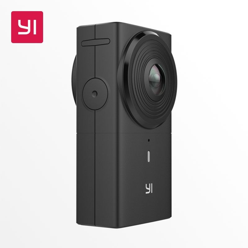 YI 360 VR Kamera 220 grad Dual Objektiv 5,7 K/30fps Immersive Mühelose Panorama Kamera Digital kamera 360 Grad kamera