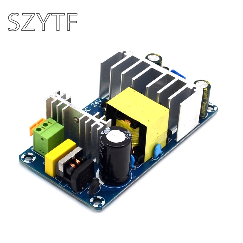 100W 4A To 6A DC 24V Switching Power Supply Board Stable High Power AC DC Power Module Transformer