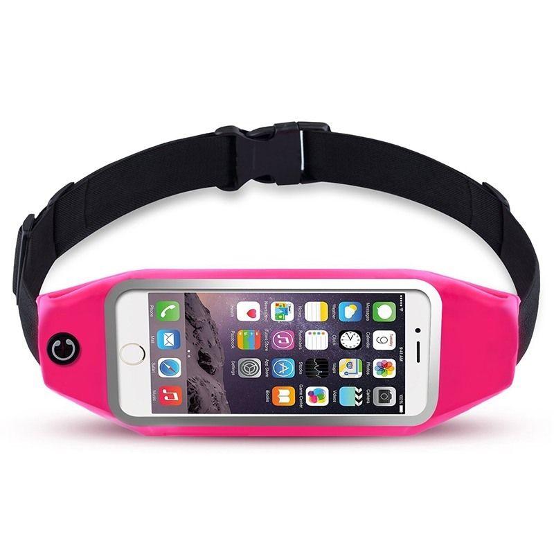 Ascromy de Course Ceinture Taille Pack pour iPhone 7 6 S 6 Plus 5 Galaxy S5 S6 S7 Bord Note 4 5 LG G3 Cas Couverture Mobile Téléphone accessoires